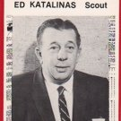 1981 Tigers Detroit News #127 Ed Katalinas Scout