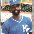 1989 Fleer 298 Willie Wilson