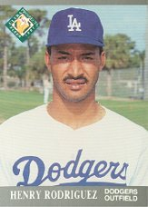 1991 Ultra #386 Henry Rodriguez MLP RC
