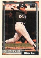 1992 Topps 355 Warren Newson