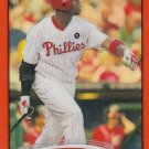 2012 Topps Chrome Orange Refractors #71 Ryan Howard