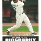 2010 Upper Deck Season Biography #SB100 Hanley Ramirez