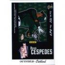 2012 Panini Triple Play #152 Yoenis Cespedes Puzzle