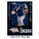 2012 Panini Triple Play #211 Evan Longoria Puzzle