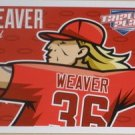 2012 Panini Triple Play #39 Jered Weaver