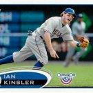 2012 Topps Opening Day #169 Ian Kinsler