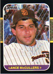 1987 Donruss #237 Lance McCullers