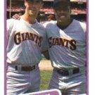 1990 Fleer 637 Will Clark/Kevin Mitchell