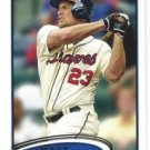 2012 Topps Update #US56 Matt Diaz
