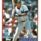 1989 Topps 436 Bobby Meacham