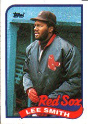 1989 Topps 760 Lee Smith