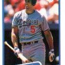 1990 Fleer 401 Mike Marshall