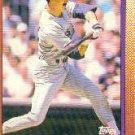 1990 Topps 375 Dwight Evans