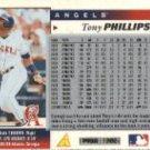 1996 Score #165 Tony Phillips