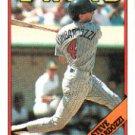 1988 Topps 697 Steve Lombardozzi