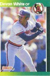 1989 Donruss 213 Devon White