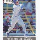 1991 Ultra #345 Omar Vizquel