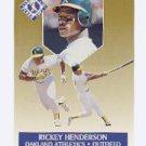1991 Ultra Gold #5 Rickey Henderson