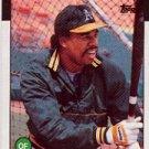 1986 Topps 748 Steve Henderson