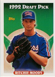 1993 Topps 438 Ritchie Moody RC