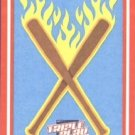 2012 Triple Play Stickers #2 Flaming Bats (Baseball Cards)