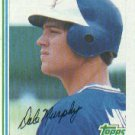 1982 Topps #668 Dale Murphy