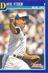 1991 Score 30 Dave Stieb UER