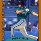 2002 Topps Traded #T239 Mike Peeples RC