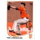 2013 Topps #55 Tim Lincecum
