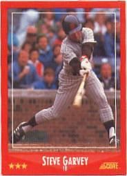 1988 Score 225 Steve Garvey