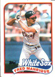1989 Topps 108 Fred Manrique
