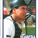 1989 Topps 743 Mike Heath