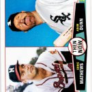 2013 Topps Heritage Then and Now #TN-MD Eddie Mathews/Adam Dunn