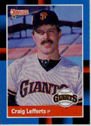 1988 Donruss 515 Craig Lefferts