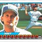 1989 Topps Big 6 Bret Saberhagen