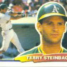 1988 Topps Big 39A Terry Steinbach/(Topps logo in black)