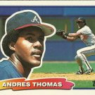 1988 Topps Big 68 Andres Thomas