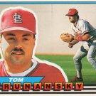 1989 Topps Big 54 Tom Brunansky