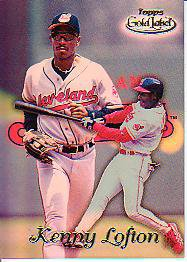 1999 Topps Gold Label Class 1 #81 Kenny Lofton