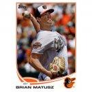 2013 Topps #217 Brian Matusz