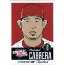 2012 Panini Triple Play #22 Asdrubal Cabrera