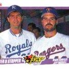 1990 Fleer 633 Mark Gubicza/Jeff Russell