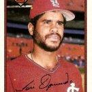 1989 Bowman #438 Jose Oquendo