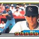 1989 Topps Big #292 Bill Pecota