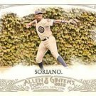 2012 Topps Allen and Ginter #242 Alfonso Soriano