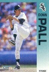 1992 Fleer 92 Donn Pall UER/(Called Dunn on/card back)