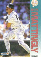 1992 Fleer 237 Don Mattingly