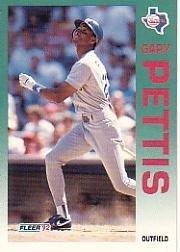 1992 Fleer 314 Gary Pettis
