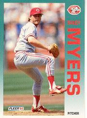 1992 Fleer 413 Randy Myers