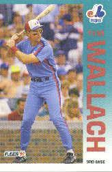 1992 Fleer 494 Tim Wallach